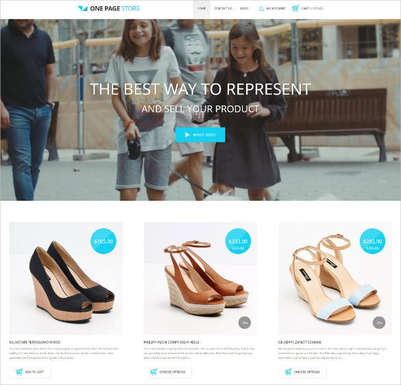 shoe store responsive shopify ecommerce theme