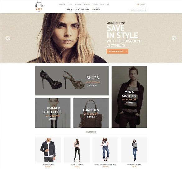apparel responsive magento ecommerce theme