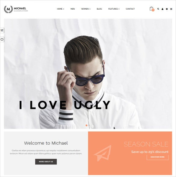 leo michael responsive prestashop ecommerce theme