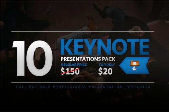 10 keynote presentation pack pdf format