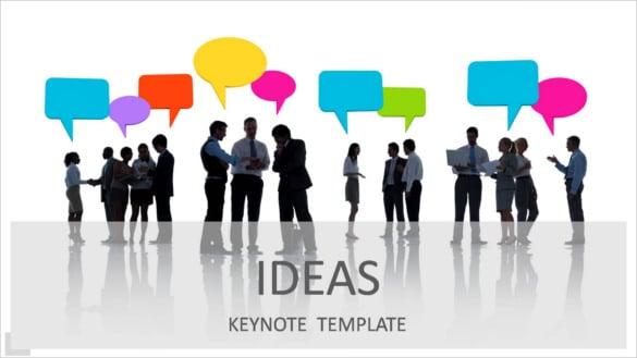 ideas keynote presentation template key download