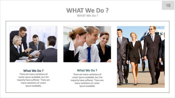 corporate keynote presentation template key file download