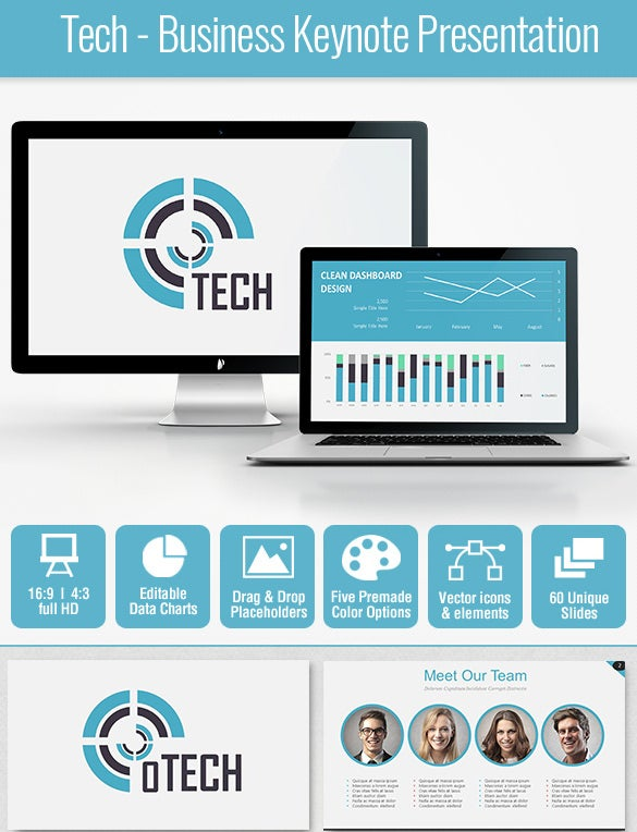 Business keynote template 14 free key ppt documents downlaod download tech business keynote presentation key template friedricerecipe Gallery