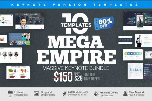 download business mega empire keynote bundle