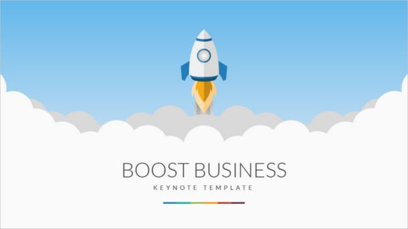 boost business keynote template key presentation