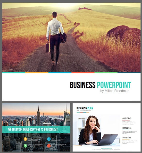 download premium business keynote template key format