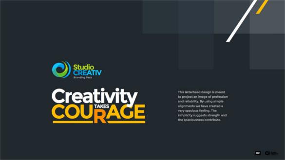 creative business keynote key presentation download