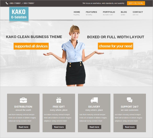 22+ Orange WordPress Themes & Templates | Free & Premium Templates