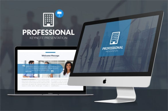 premium download professional keynote template in pdf format