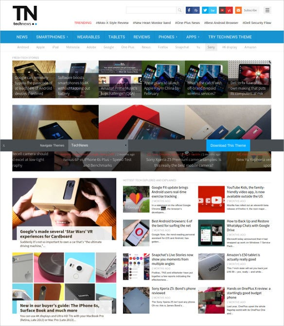 Technews Technology Magazine Theme 59