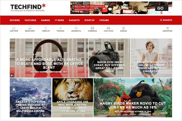 techfind a magazine wordpress theme 49