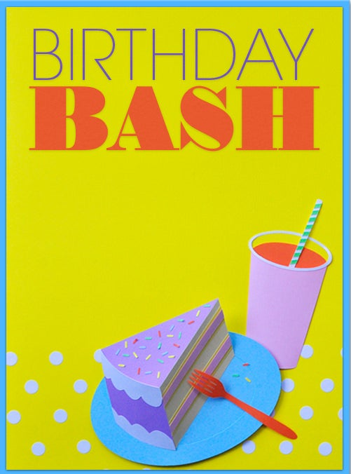 happy birthday bash invitations