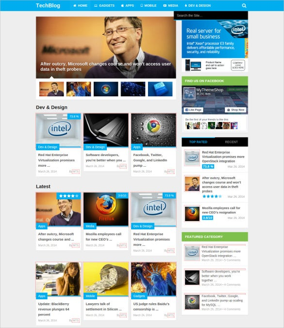 good magxp tech blog wordpress theme 59