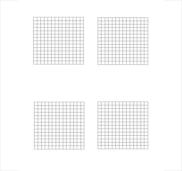 Grid Paper Template 14 Free Word PDF JPG Documents Download – Microsoft Office Graph Paper