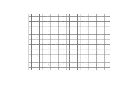 One Page With One Grid 30×22  Graph Paper Word Document