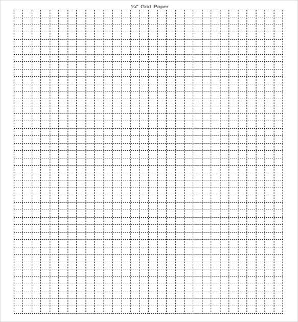 Good Download Grid Paper Template PDF  Grid Paper Template