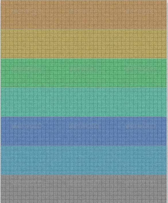 colored grid papers