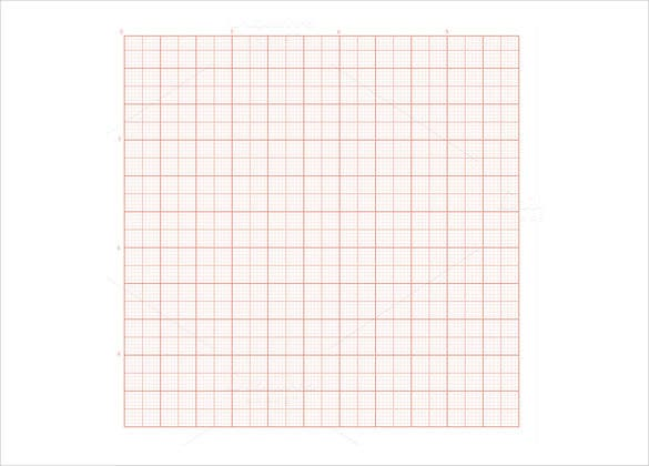 red grid paper sample download