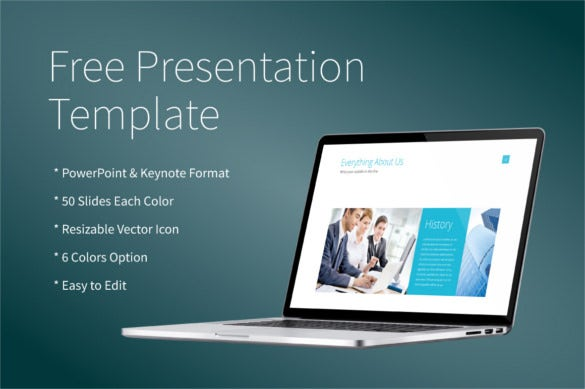 free powerpoint keynote presentation template