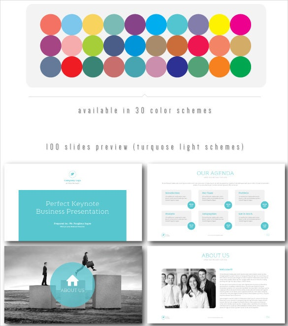 perfect powerpoint keynote presentation template for free