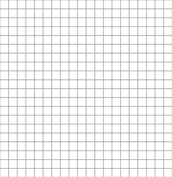 five millimeters grid pattern