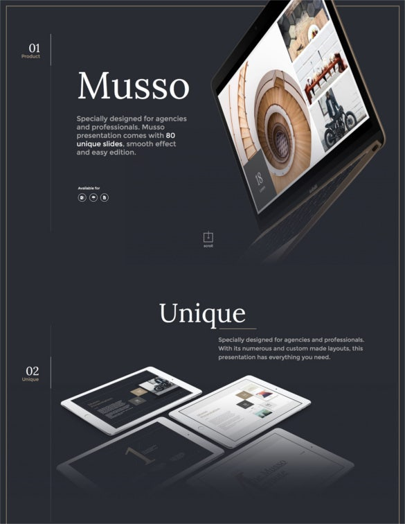 musso presentation keynote template download