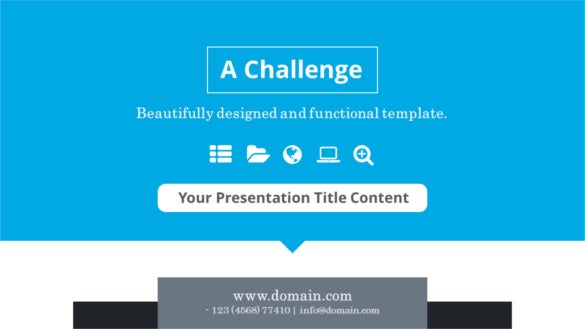 12 business keynote templates free sample example format download a challenge business keynote templates cheaphphosting Images
