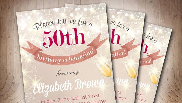 50birthdayinvitation