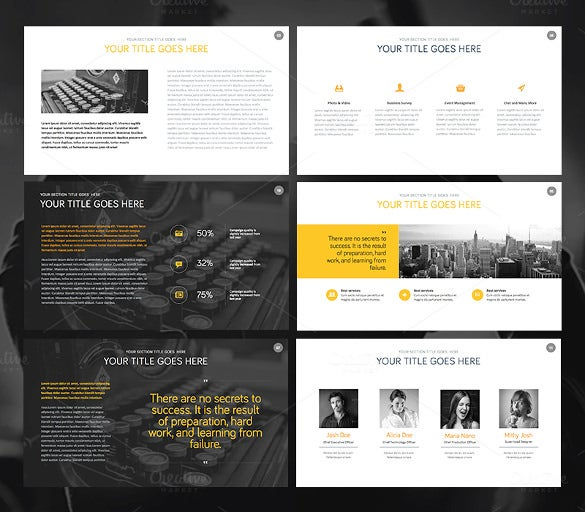 12 professional keynote templates free sample example format download free premium for Free keynote template