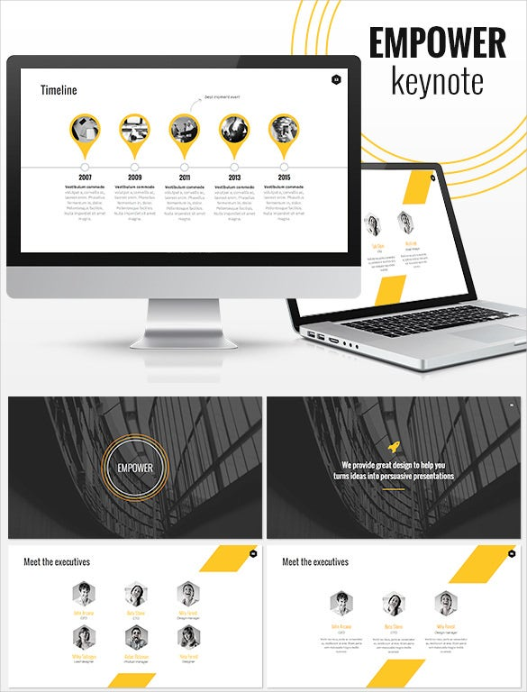 12+ professional keynote templates – free sample, example format, Presentation templates