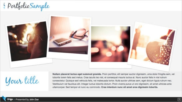 origa apple keynote presentation template download