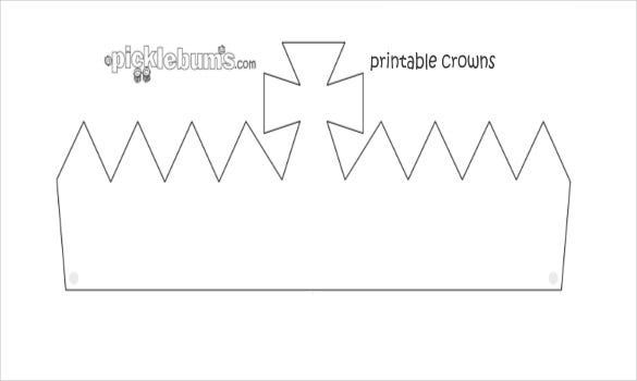 cardboard crown template 12 paper crown templates free sample example format