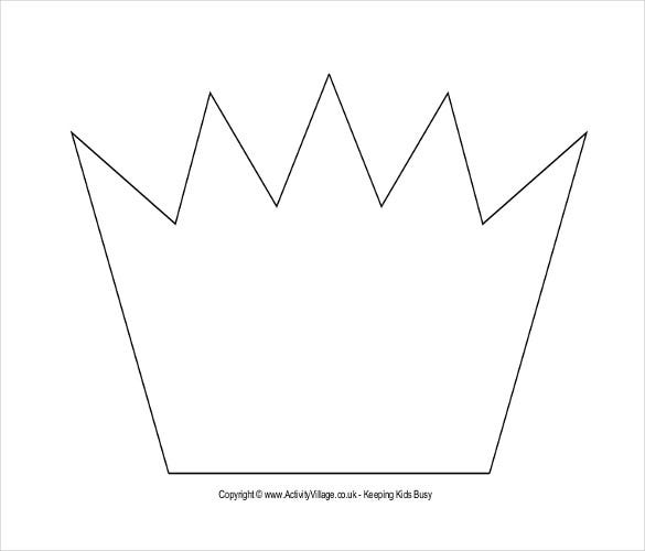 Paper Crown Template - 21+ Free Word, Pdf Documents | Free