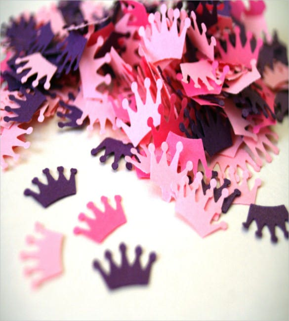 paper crown die cut crown