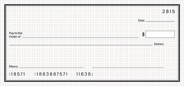 Free Simple Blank Cheque Template  Free  Premium Templates