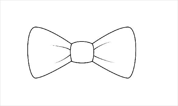 printable paper bow template1