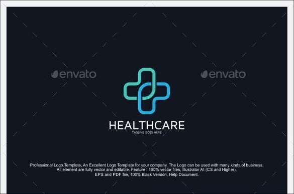 general health care hospital logo template