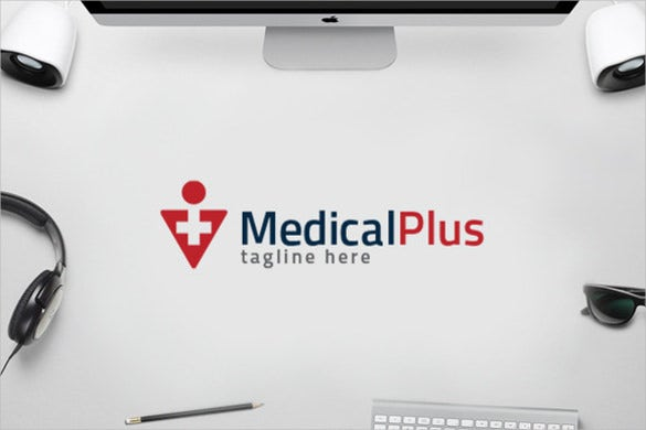 elegant hospital logo design for medicals