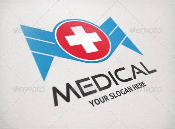 creative design health care hospital logo for medical