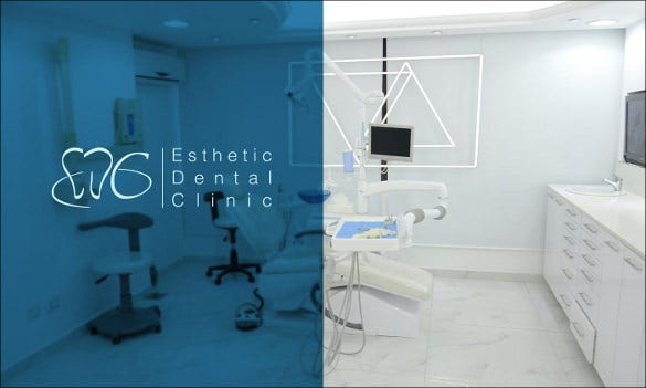 creative dental clinic hospital logo design