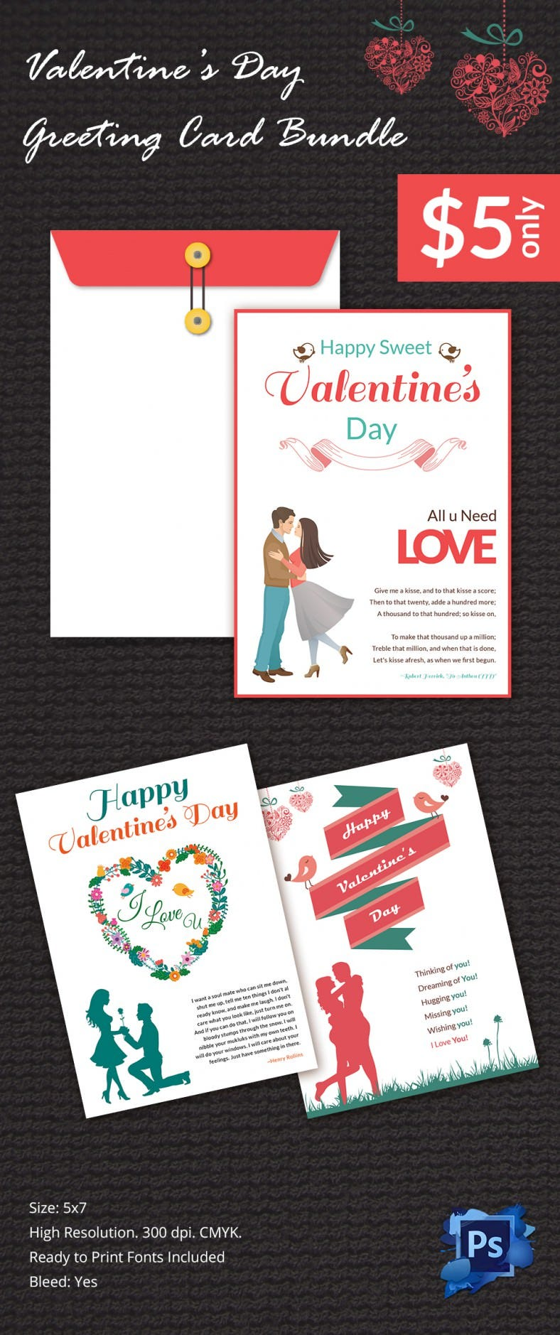 GreetingcardMockup Bundle