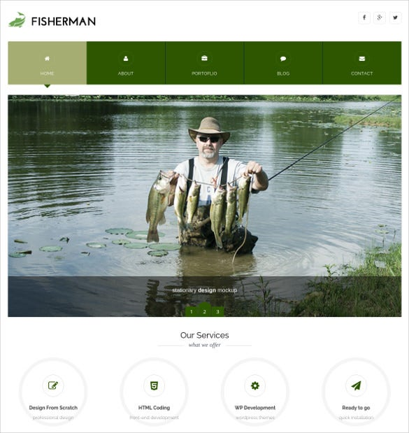 premium multiconcept fishing wordpress template
