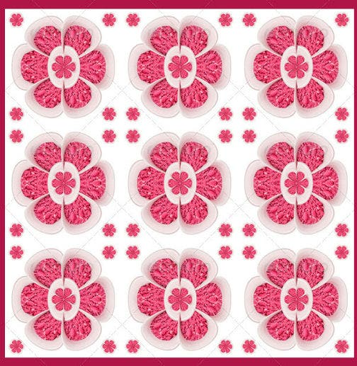 3 pink floral background patterns download