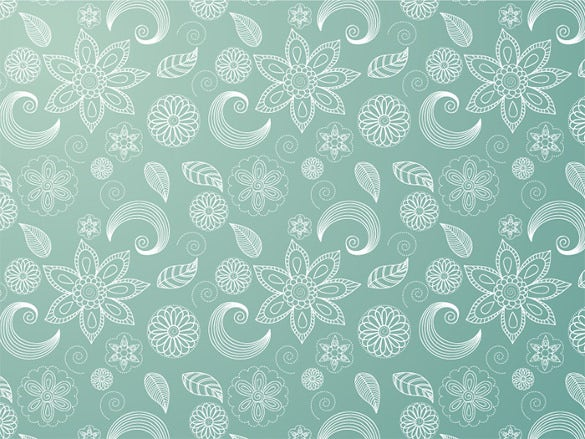 free download hand drawn floral background