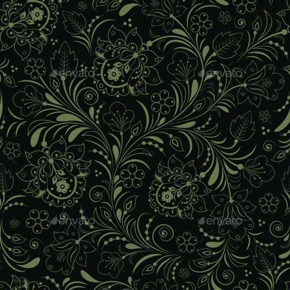 download premium black color floral backgrounds