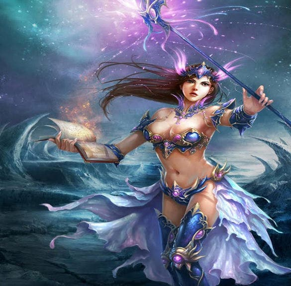 illustration fantasy art girl wallpaper download