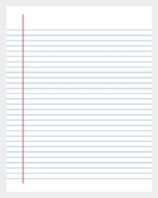 Printable-Lined-Paper-College