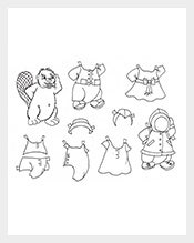 Animal-Paper-Doll-Template