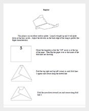 Raptor-Paper-Airplane-Template-Printable