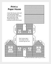 Printable-Paper-House-Template-Download